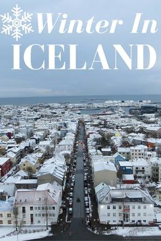 Winter In Iceland. I absolutely loved winter time in Iceland. Check the post for more details! | #travel #iceland