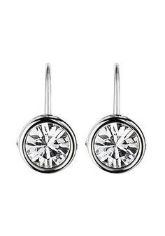 Dyrberg Kern Silver Madu French Hook Earrings