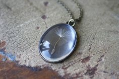 Make a Wish - Dandelion Wisp Necklace