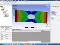 Fatigue Analysis of a plate with hole using ANSYS Workbench 15.0.7 - YouTube