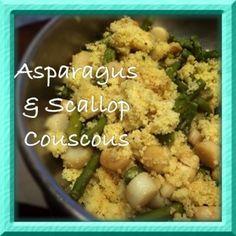Asparagus & Scallop CousCous
