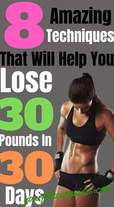 Trying to lose weight quickly? Learn how to lose 30 pounds in 30 days with some of these clever weight loss techniques. Discover how with these simple tips. Weight Loss Blogs, Weight Loss For Women, Best Weight Loss, Healthy Weight Loss, Losing Weight Tips, How To Lose Weight Fast, Fitness Motivation, Fitness Plan, Fitness Goals