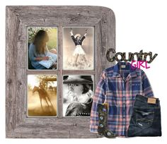 """Country Girl"" by the-l0st-girl ❤ liked on Polyvore featuring L.L.Bean, Abercrombie & Fitch and country"