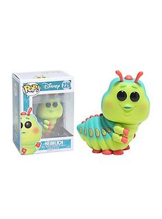"""""""I am flying! And from way up here you all look like little ants."""" - Heimlich<br><br>Heimlich from Disney's <i>A Bug's Life</i> is given a fun, and funky, stylized look as an adorable collectible Pop! vinyl figure from Funko!<br><ul><li style=""""list-style-position: inside !important; list-style-type: disc !important"""">Pop! Disney 229</li><li style=""""list-style-position: inside !important; list-style-type: disc !important"""">3 3/4"""" tall</li><li style=""""list-style-position: inside !important…"""