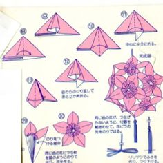 Adobracya Diagram Kusudama Diamond Patches Made With Two Different