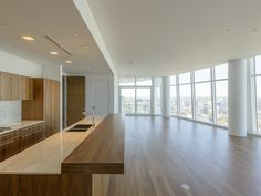 Some of the luxury high-rise homes currently available at Museum Tower 1918 Olive Street #3101