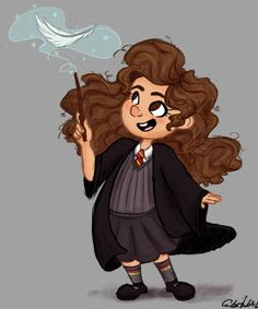 Hermione Granger - The brightest witch of her age… by The Art of Erika Hunter