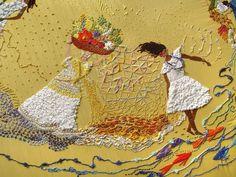Mandala O que é que a baiana tem? (detalhe) -  Capa do CD Pirata, de Maria Bethânia - Matizes Dumont