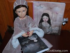 """Matilda - Your Tudor Doll from A Girl for all Time - 16"""" articulated doll."""