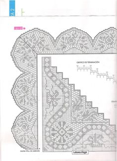 Crochet Borders, Filet Crochet, Crochet Doilies, Crochet Lace, Romanian Lace, Gourds, Holidays And Events, Diy And Crafts, Cross Stitch