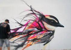 """Vogel / """"Wasserfarben"""""""
