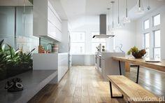 nowoczesna biała kuchnia aranżacje - Szukaj w Google