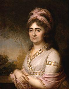 1798 Portrait of Martha Arbeneva by Vladimir Borovikovsky