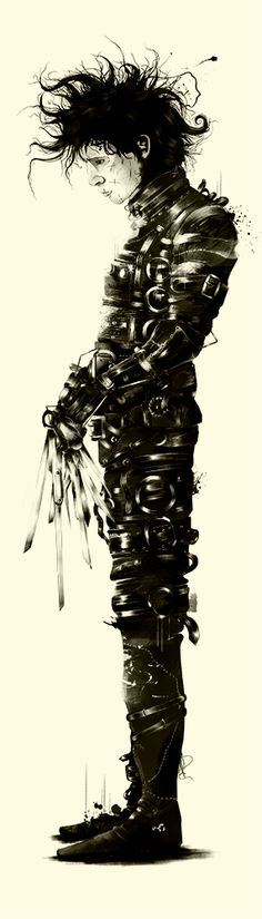 Tribute to Tim Burton by Marie Bergeron Design Inc. , via Behance