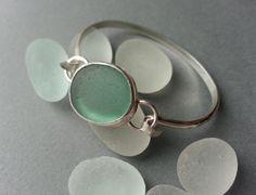 Sea Glass Bracelet Sea Glass Jewelry by JulieAndersonDesign, $155.00