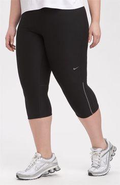 Best workout pants!!    Nike 'Filament' Capris (Plus) available at #Nordstrom