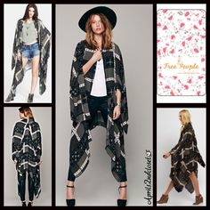 I just discovered this while shopping on Poshmark: Free People $198 Festival Kimono Scarf CapeNWT. Check it out! Price: $145 Size: L, listed by aprils2ndcloset