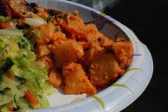 Kimchi Potato Salad - The Food in my Beard