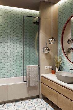 Bathroom Design Luxury, Bathroom Layout, Modern Bathroom Design, Interior Design Living Room, Small Bathroom, Bathrooms, Bad Inspiration, Bathroom Inspiration, Tropical Bedroom Decor
