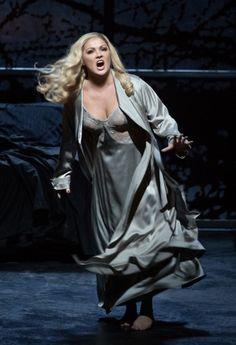 Anna Netrebko as Lady Macbeth at Metropolitan Opera