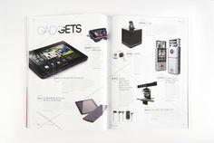 Bleu Magazine - Vol.III Issue 18 by Squat Design , via Behance