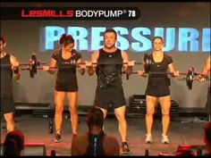 MONDAY - BODYPUMP® is a 55 barbell workout that strengthens and tones your entire body. What you are viewing is a portion of track 6 that focuses on your biceps.