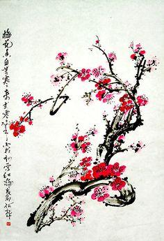 """""""Chinese painting plum"""""""