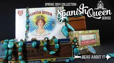 Betty Badd Couture 2014 Spring Collection Spanish Queen Series features unique Turquoise.