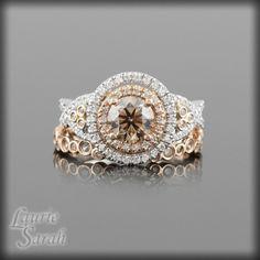 Chocolate Colored Diamond Rings RingsCladdagh