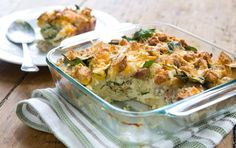 This is my go-to breakfast when we have guests at the lake house. Whole Foods Breakfast Casserole