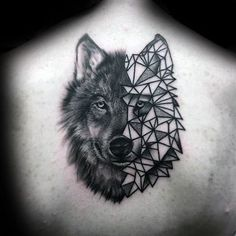 >> ninety Geometric Wolf Tattoo Designs For Males - Manly Ink Concepts...
