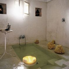 sunken tub and shower | if i owned this bathroom i would feel like cleopatra everyday grapes ...