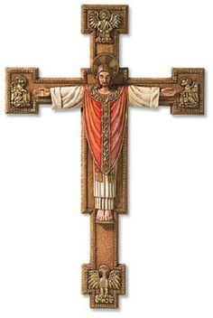Risen Jesus Christus Rex Wall Cross – Beattitudes Religious Gifts