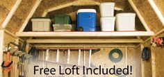 Want to Get Organized for New Year's? Get a Storage Shed