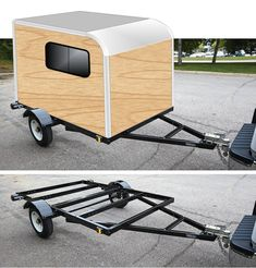 Read information on camper trailers for sale. Check the webpage for more info This is must see web content. Small Camper Trailers, Diy Camper Trailer, Tiny Camper, Small Campers, Trailer Build, 5x8 Trailer, Travel Trailers, Small Car Trailer, Trailer Tent