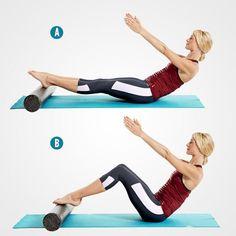 Grasshopper http://www.womenshealthmag.com/fitness/foam-roller-pilates-workout?adbid=10152897702326788