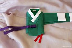 오리미한복 :: 초록 항라 저고리와 연보랏빛 치마, 그리고 치마 안감에 따른 색상 변화 비교