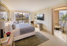 Suite de One hotel en barcelona.