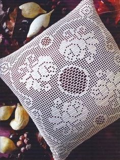 """Scatter pillow"" crochet pillow♥LCP-MRS♥ with diagram"