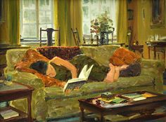 A Good Mystery by David Hettinger Oil ~ 12 in x 16 in
