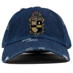 9c2db1c3bf09a Alpha Phi Alpha Distressed Denim Hat. Greek ParaphernaliaGreek StoreDenim  ...