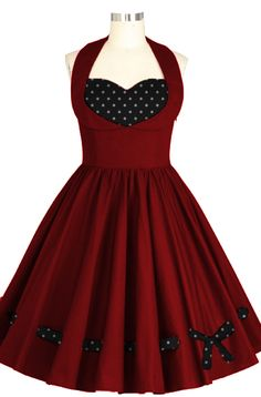 Rockabilly Heart Dress by Chic Star design by Amber Middaugh