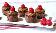 Purely Nourished: Frosted Raspberry Black Bean Brownies