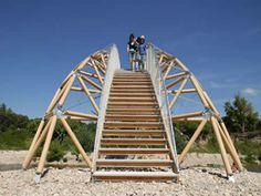 PAPER BRIDGE - Remoulin, France, 2007