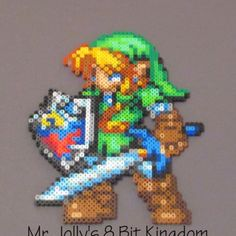 Link perler beads by mr_jollys_8_bit_kingdom