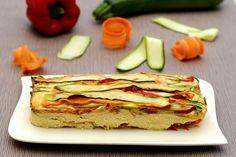 Terrrine de légumes façon flan - 5sp Weight Watchers la recette entière