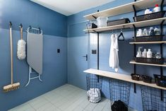 Laundry Room, New Homes, Cabinet, Architecture, Storage, Colors, Diy, House, Furniture