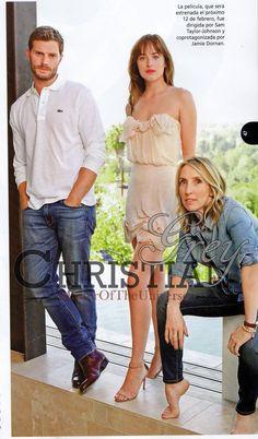 Jamie, Dakota and Sam.
