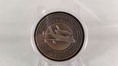 NASA Space Shuttle Carrier Aircraft Coin Contains Flown Metal From 2 Carriers