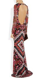 Pucci gown. So Italian. I love it.